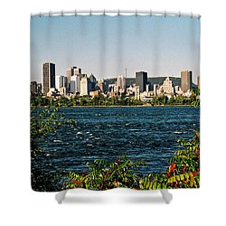 Shower Curtain featuring the photograph Ville De Montreal by Juergen Weiss