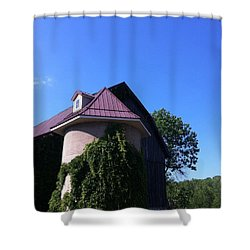 Shower Curtain featuring the photograph Vineyard by Tiffany Erdman
