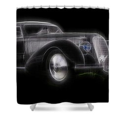 Vintage Alfa Shower Curtain