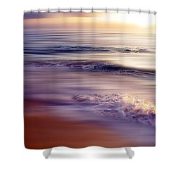 Violet Dream Shower Curtain by Hannes Cmarits