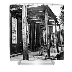 Virginia City Brewery Area Shower Curtain by Susan Kinney