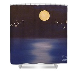 Virgo And Capricorn Shower Curtain by Alys Caviness-Gober