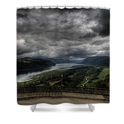 Vista House View Shower Curtain