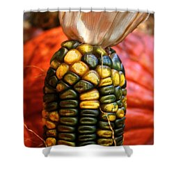 Vivid Agriculture Shower Curtain by Susan Herber
