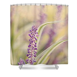 Voices Carry Shower Curtain by Amy Tyler