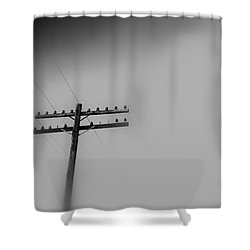 Voices From Heaven Shower Curtain