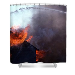 Volunteer Shower Curtain by Skip Willits