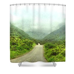 Wadi Darbat Shower Curtain