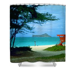 Waimanalo Shower Curtain