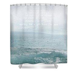 Waiola Water Of Life Shower Curtain by Sharon Mau