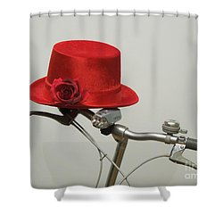 Waiting Shower Curtain by Renee Trenholm
