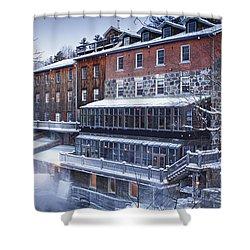 Wakefield Inn Shower Curtain by Eunice Gibb