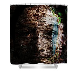 Waldgeist Shower Curtain by Christopher Gaston