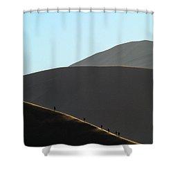 Walk The Edge Shower Curtain