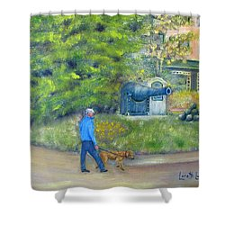 Walking New Hope Shower Curtain