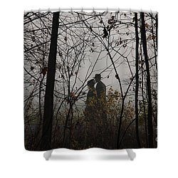 Walking To Church Shower Curtain