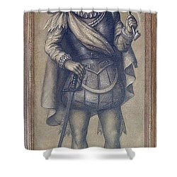 Walter Raleigh, English Explorer Shower Curtain by Photo Researchers
