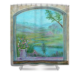 Walton's Valley Shower Curtain