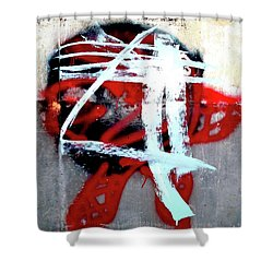 Shower Curtain featuring the photograph Was Here by Newel Hunter