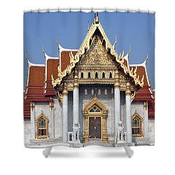 Wat Benchamabophit Ubosot Dthb180 Shower Curtain