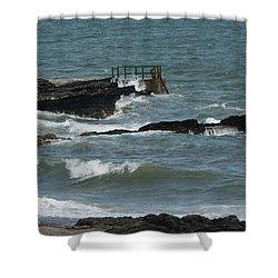 Water 0002 Shower Curtain by Carol Ann Thomas