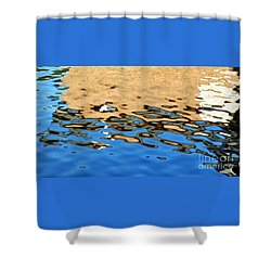 Water Art Shower Curtain by Kaye Menner