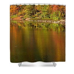 Water Dancers Shower Curtain by Ed Smith