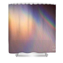 Water Rainbow Shower Curtain by Phyllis Kaltenbach