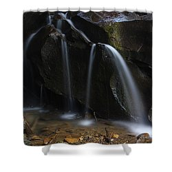 Waterfall On Emory Gap Branch Shower Curtain