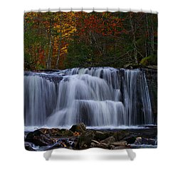 Waterfall Svitan Shower Curtain