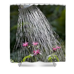 Watering Can Shower Curtain by Picture Partners and Photo Researchers