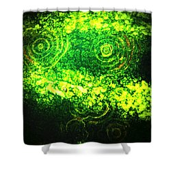 Watermelon Eyes Shower Curtain by Chris Berry