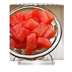 Watermelon Parfait 2 Shower Curtain by Andee Design
