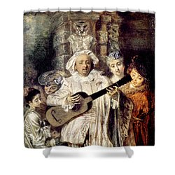 Watteau: Gilles & Family Shower Curtain by Granger