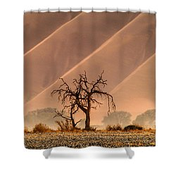 Wave Tree Shower Curtain