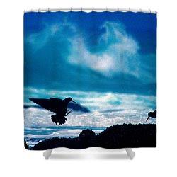 Wavedance Shower Curtain
