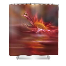 Waves Of Symphony... Shower Curtain by Juliana Nan