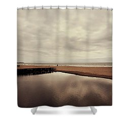 We Should Never Be Apart Shower Curtain by Laurie Search