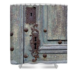 Weathered Shower Curtain by Lainie Wrightson