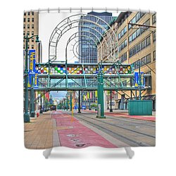 Shower Curtain featuring the photograph Welcome No 2 by Michael Frank Jr
