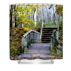Welcome To My World Shower Curtain by Kay Novy