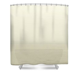 Welcome To The New World Shower Curtain by Hannes Cmarits