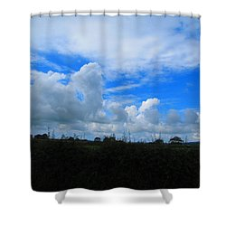 Welsh Sky Shower Curtain