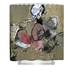 Welterweight  Shower Curtain by Cliff Spohn