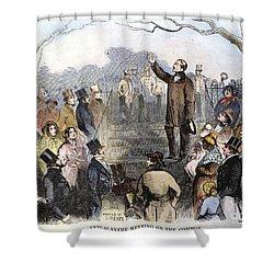 Wendell Phillips Shower Curtain by Granger