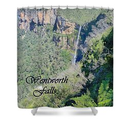Wentworth Falls Shower Curtain by Carla Parris