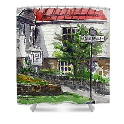 Wetheredsville Street Shower Curtain