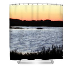 Shower Curtain featuring the photograph Wetland by Henrik Lehnerer