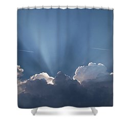 What A Light Show Shower Curtain
