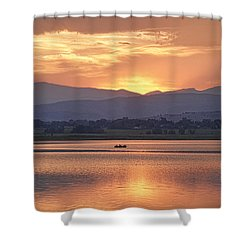 What A View Shower Curtain by James BO  Insogna